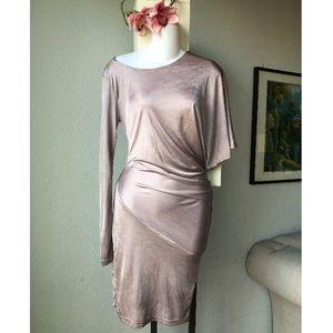 ASOS stretch sexy bodycon asymmetric dress
